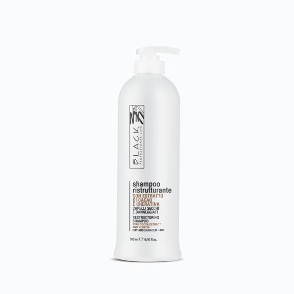 Shampoo ristrutturante capelli secchi e danneggiati