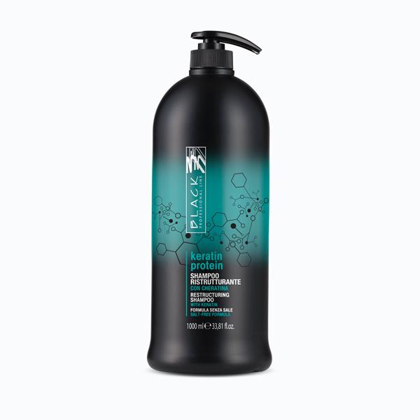 Shampoo Ristrutturante per Capelli Sfibrati - Keratin Protein